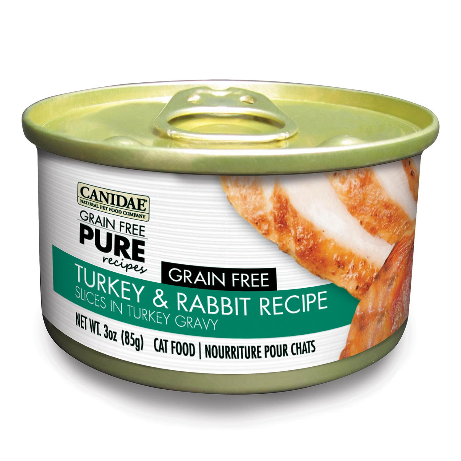 Canidae Grain Free Pure Recipes Turkey & Rabbit Canned Cat Food