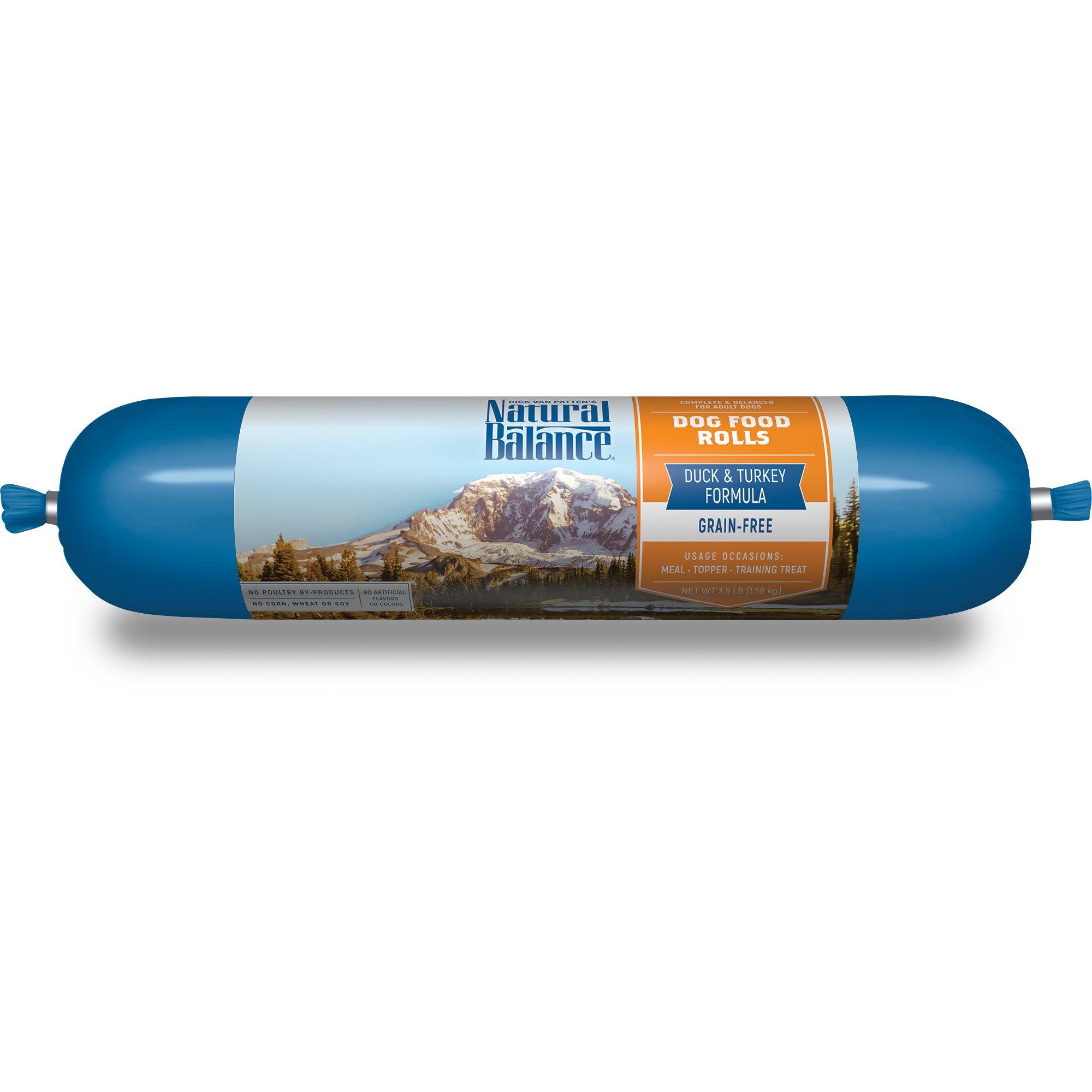 Natural Balance Duck & Turkey Formula Dog Food Rolls