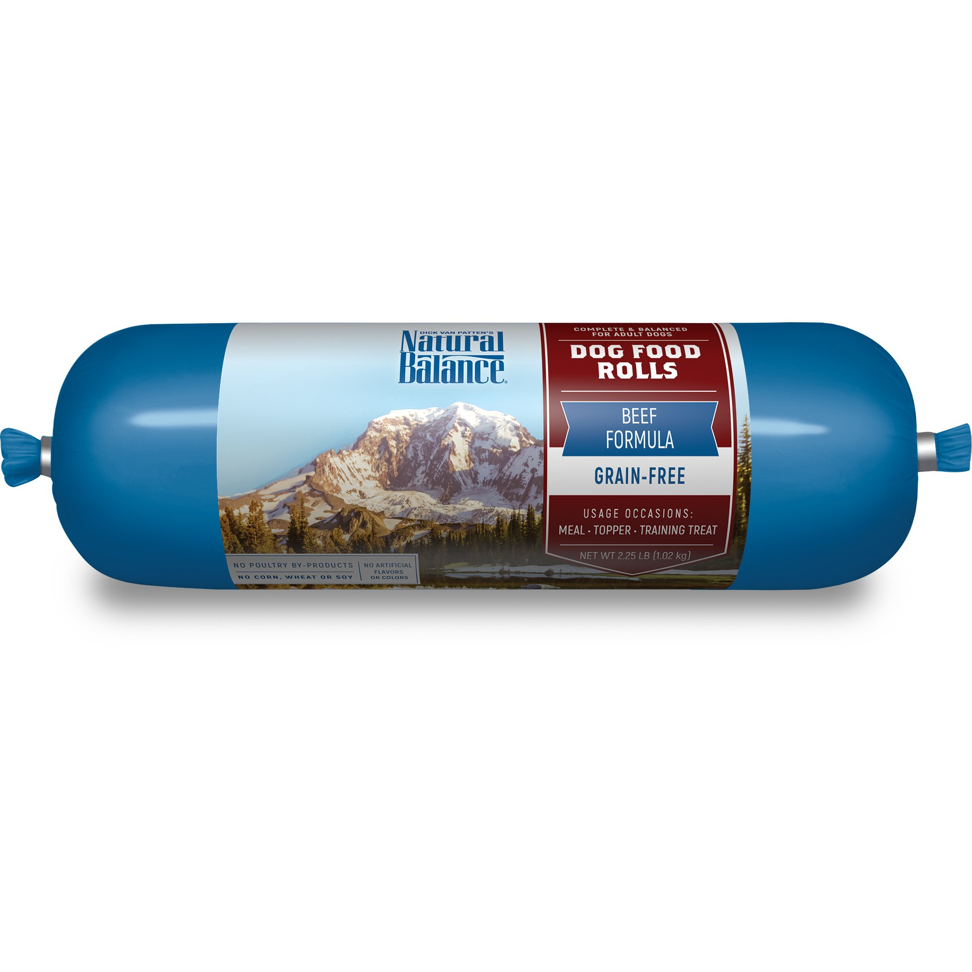 Natural Balance Beef Formula Dog Food Rolls
