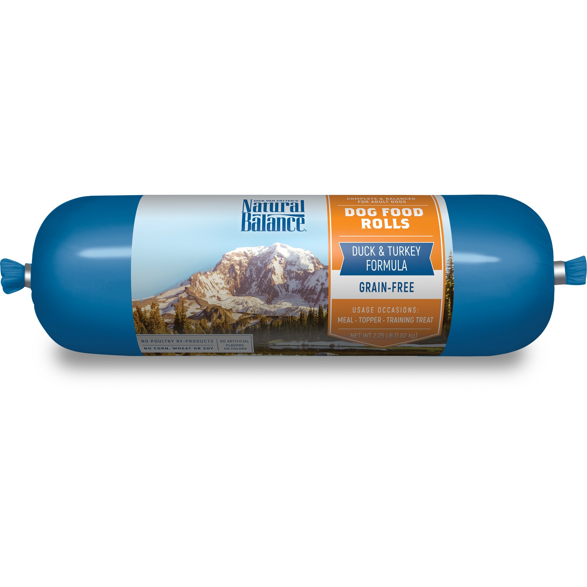 Natural Balance Duck & Turkey Formula Dog Food Rolls
