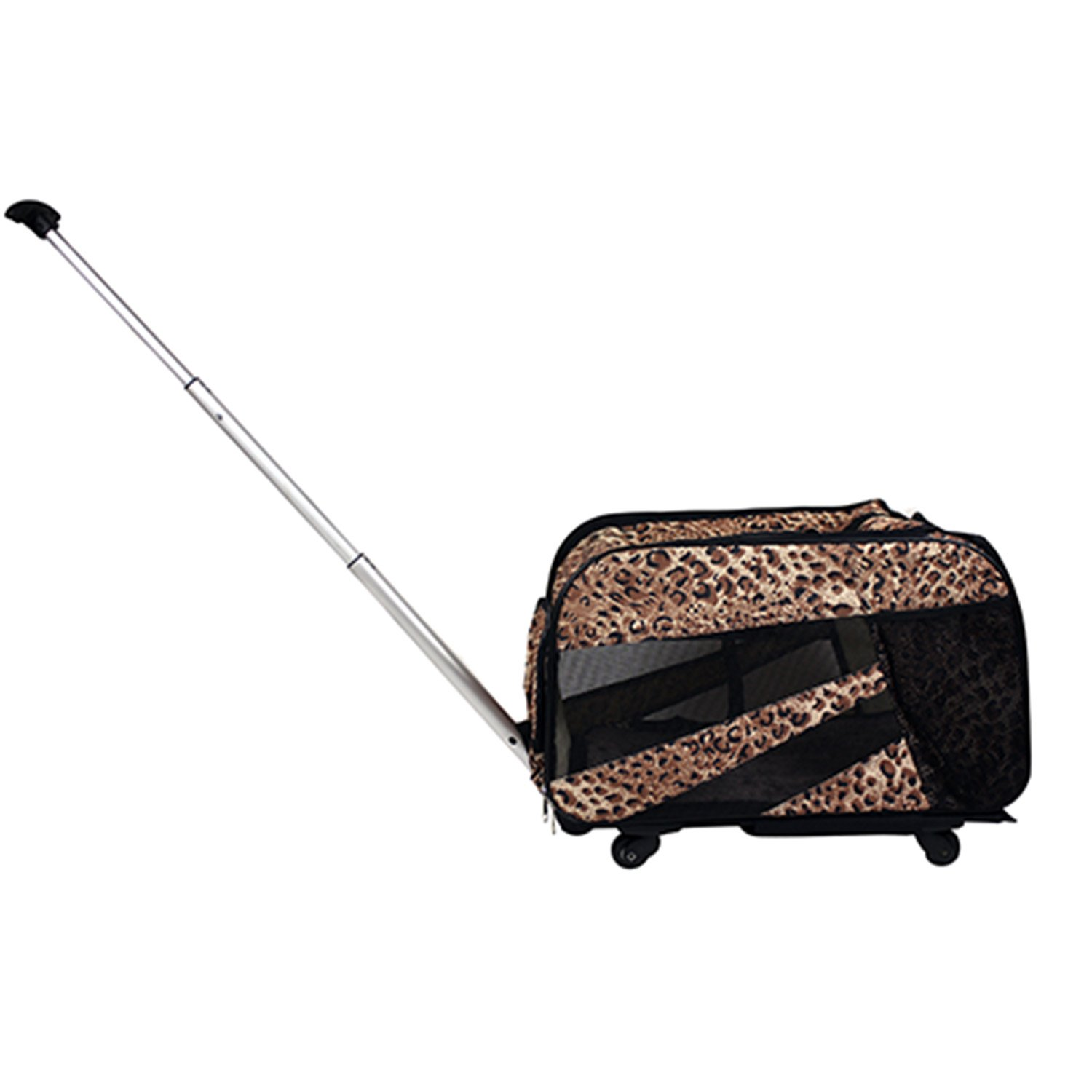 Smart Cart Cheetah Print Dog Cart