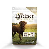 Nature's Variety Instinct Raw Boost Grain-Free Venison & Lamb Meal Dog Food