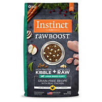 Nature's Variety Instinct Raw Boost Grain-Free Chicken Meal Large Breed Puppy Food