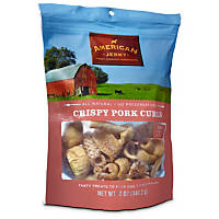 American Jerky Crispy Pork Curls Dog Treats