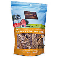 American Jerky Chicken Strips Dog Treats