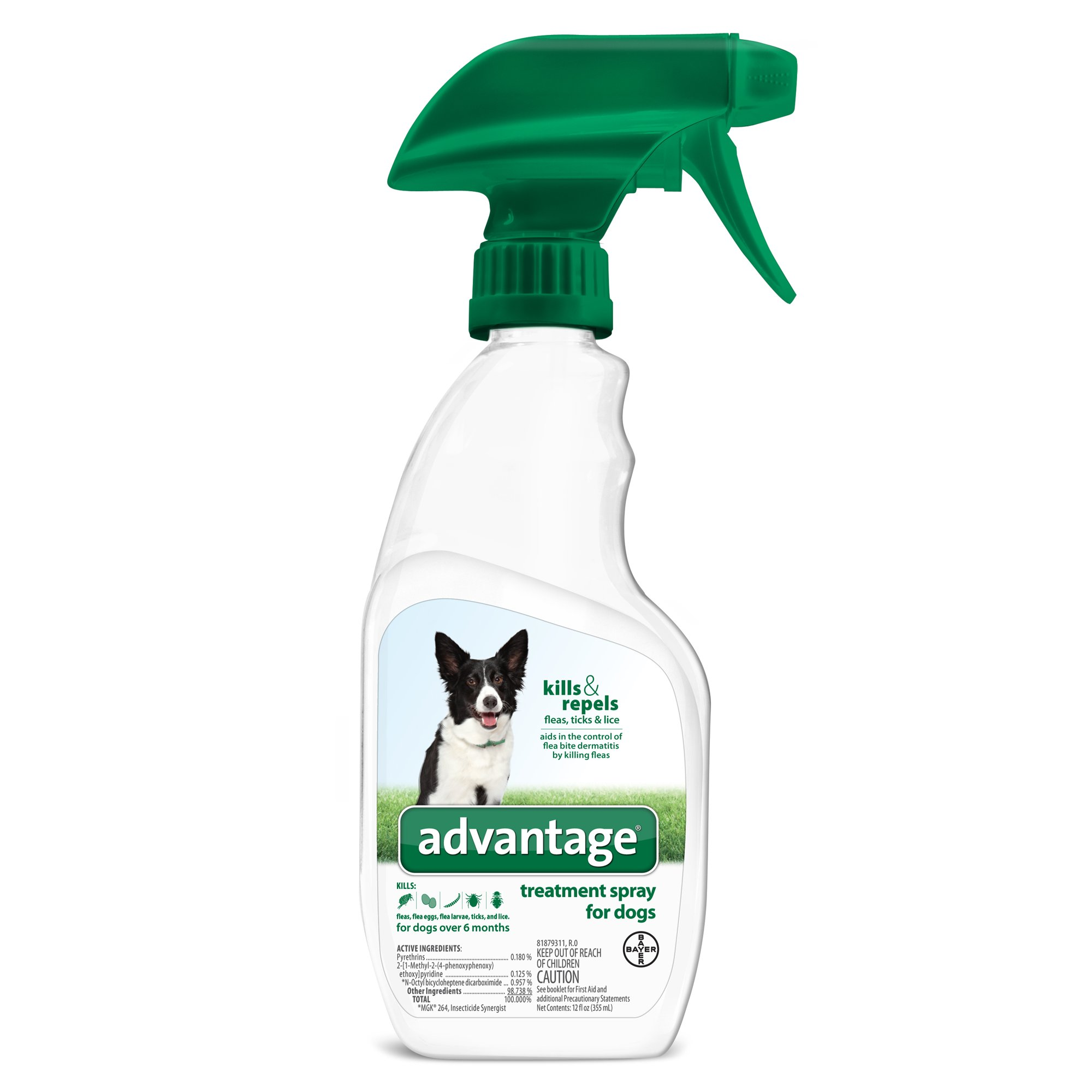 Advantage Flea & Tick Treatment Dog Spray