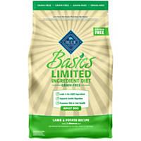 Blue Buffalo Basics Limited Ingredient Grain Free Lamb & Potato Adult Dog Food