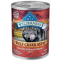 Blue Buffalo Wilderness Wolf Creek Stews Adult Canned Dog Food