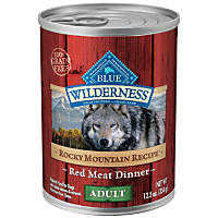 Blue Buffalo Wilderness Rocky Mountain Recipe with Red Meat Adult Canned Dog Food