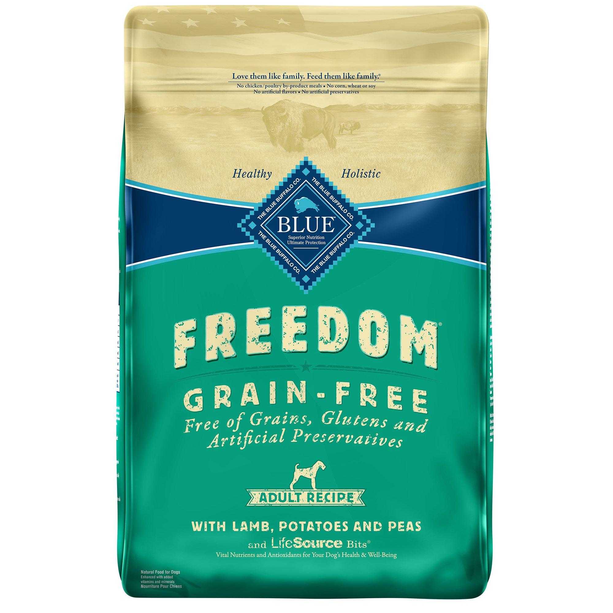 Blue Buffalo Freedom Grain Free Lamb Recipe Adult Dog Food