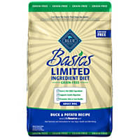 Blue Buffalo Basics Limited Ingredient Grain Free Duck & Potato Dog Food