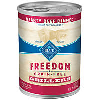 Blue Buffalo Freedom Grain Free Grillers Beef Adult Canned Dog Food