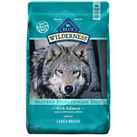 Blue Buffalo Large Breed Wilderness Salmon Adult Dry Dog Food