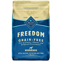 Blue Buffalo Freedom Grain Free Chicken Recipe Senior Dog Food