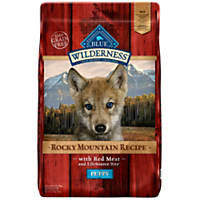 Blue Buffalo Wilderness Rocky Mountain Recipe with Red Meat Dry Puppy Food