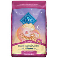 Blue Buffalo Indoor Hairball Control Chicken & Brown Rice Adult Cat Food
