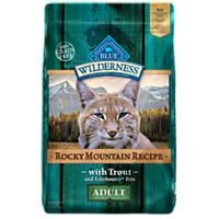 Blue Buffalo Wilderness Grain Free Rocky Mountain Trout Adult Cat Food