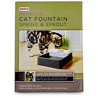 Petco Premium Spring & Sprout Cat Fountain, 72 oz.