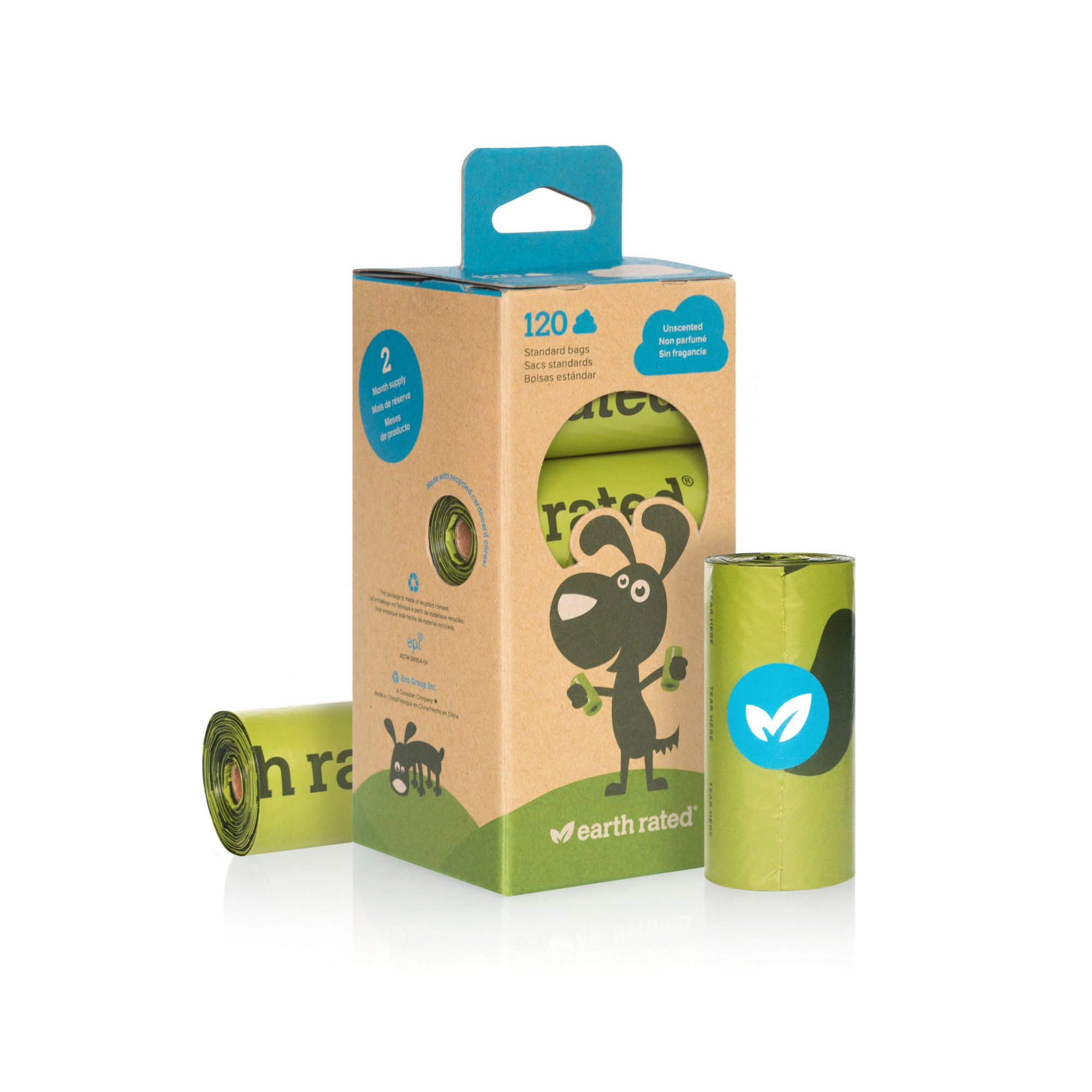 Earth Rated PoopBags Unscented Dog Waste Bag Refills