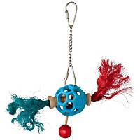 JW Pet Hol-ee Roller Pigtails Bird Toy