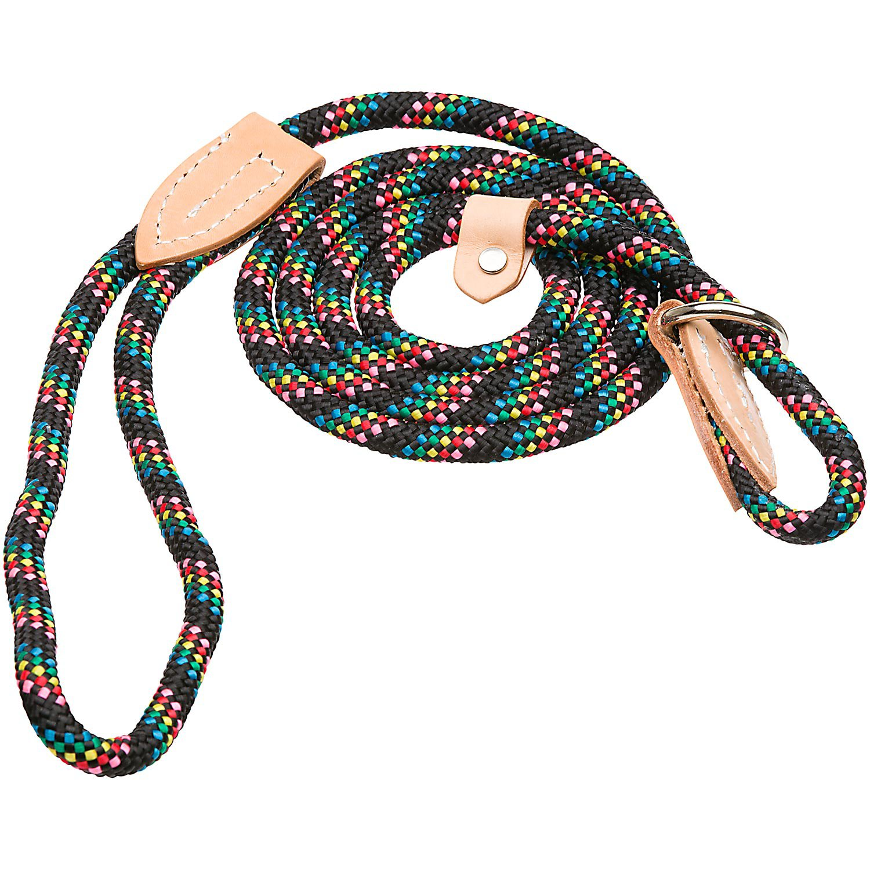 Hamilton London Quick Black Confetti Dog Collar & Leash Combo