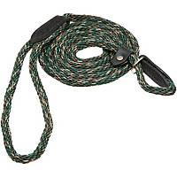 Hamilton London Quick Green Braid Dog Collar & Leash Combo