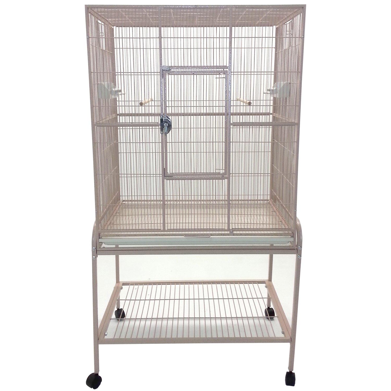 A&E Cage Company Flight Bird Cage in Sandstone