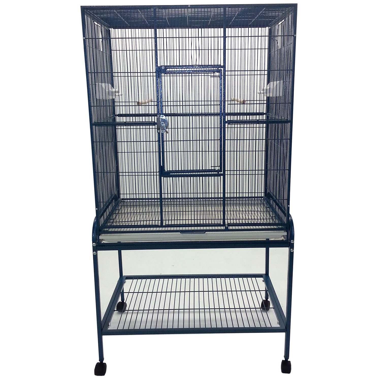 A&E Cage Company Flight Bird Cage in Blue