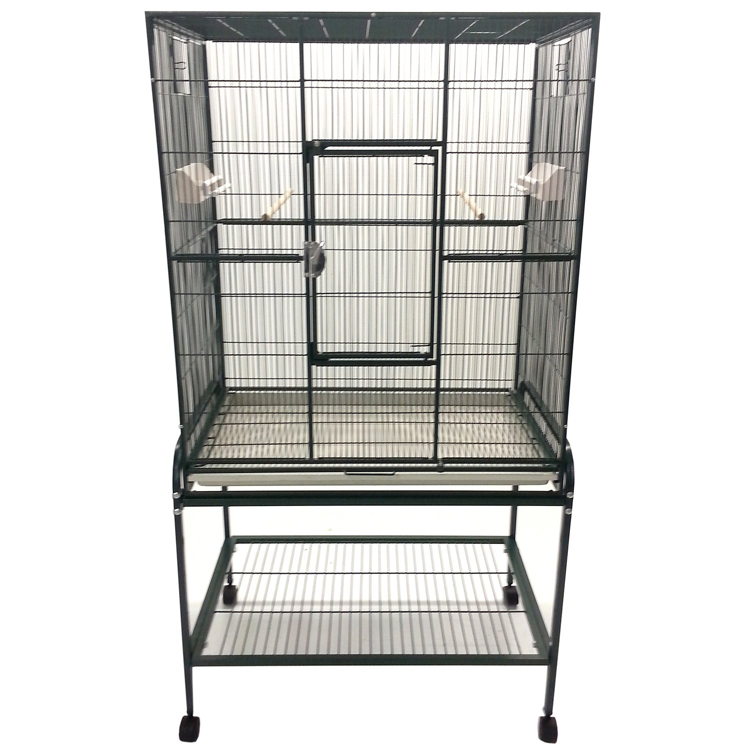 A&E Cage Company Flight Bird Cage in Green