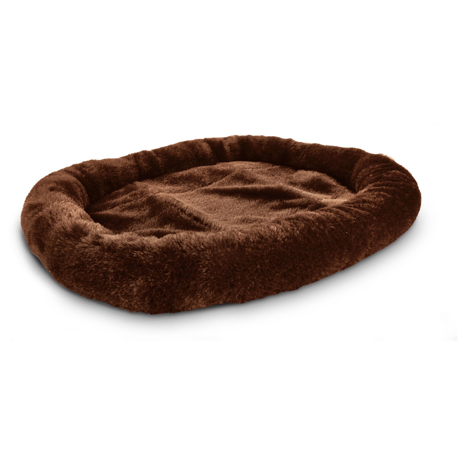 Petco Ultra Soft Brown Oval Donut Cat Bed