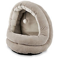 Petco Hooded Cat Bed in Gray