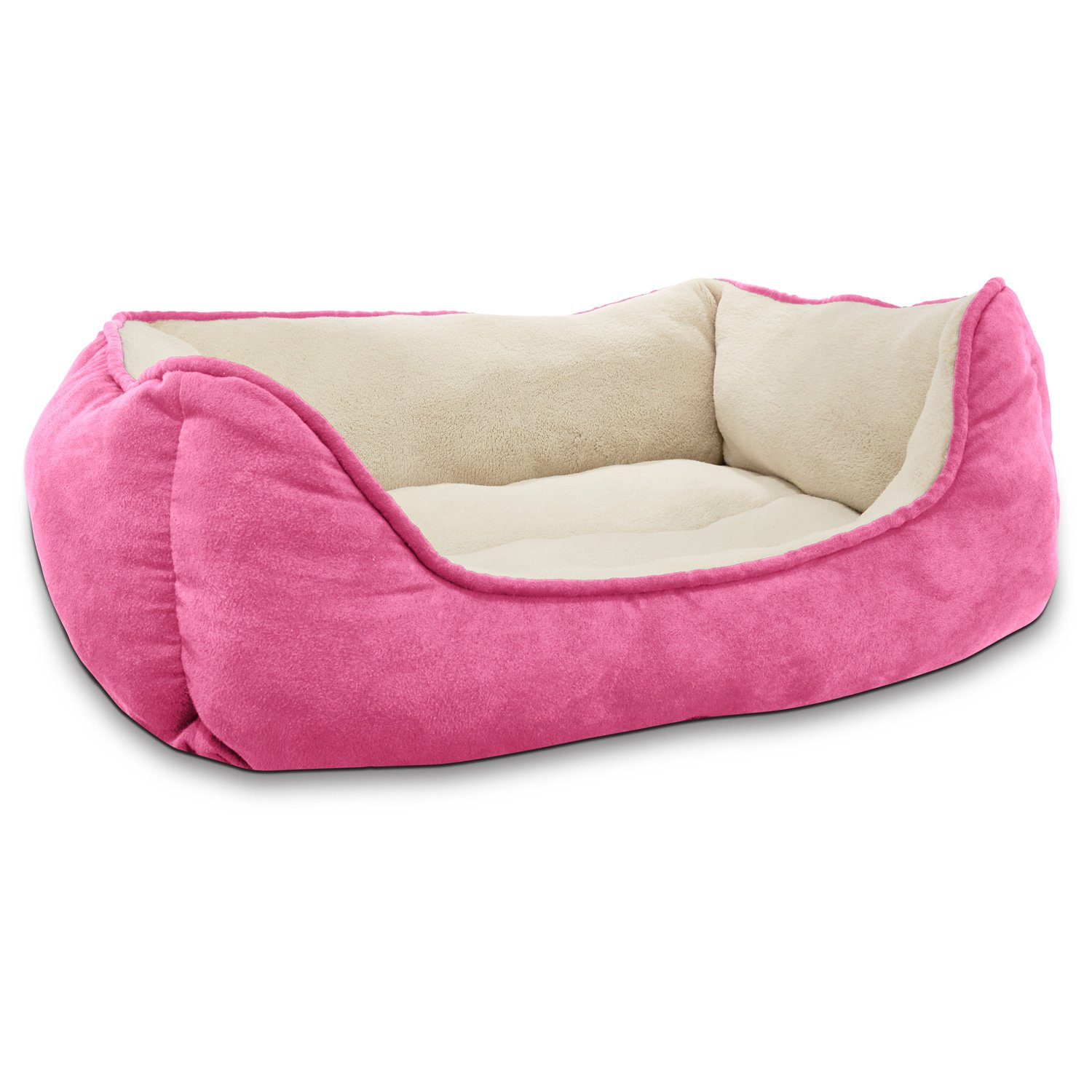 Petco Box Dog Bed in Pink