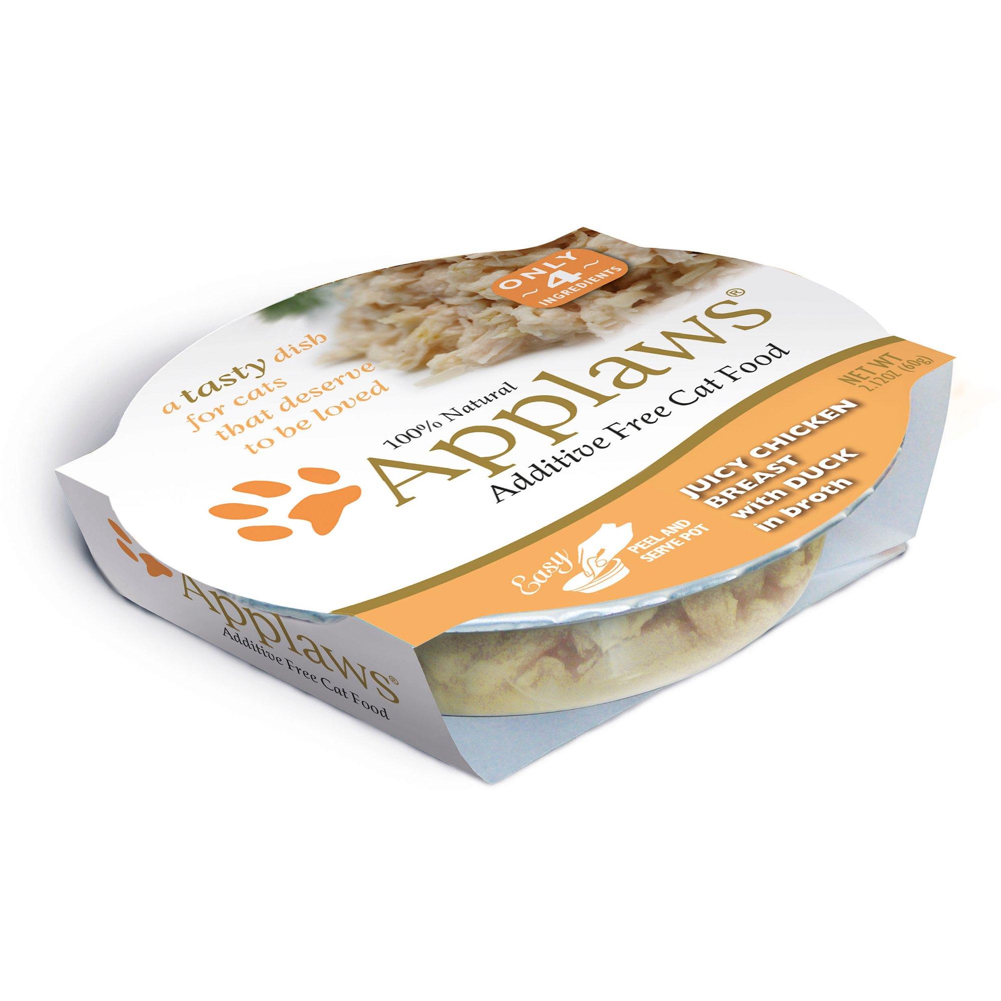 Applaws Juicy Chicken Breast with Duck Peel & Serve Pot Cat Food