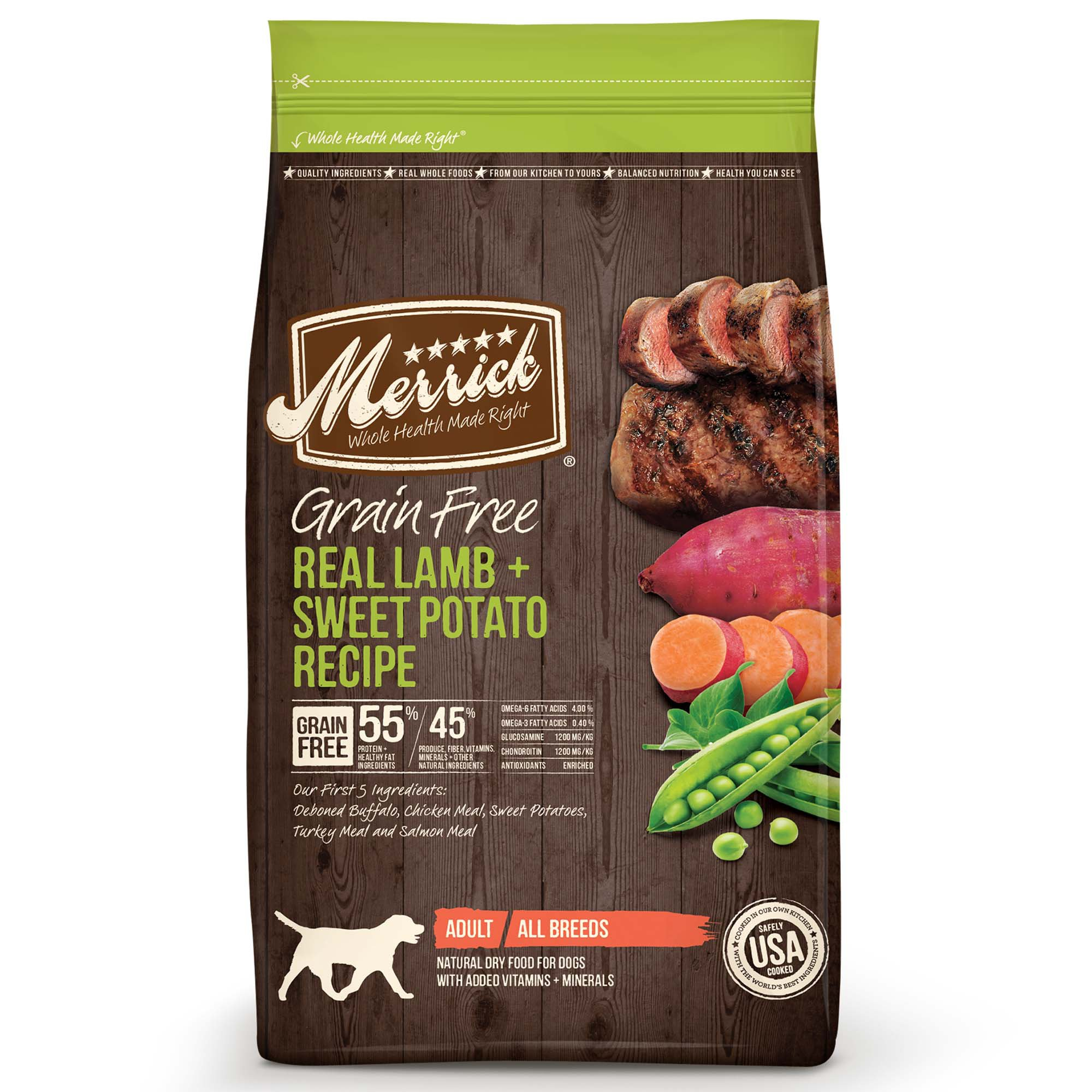 Merrick Grain Free Real Lamb & Sweet Potato Adult Dog Food