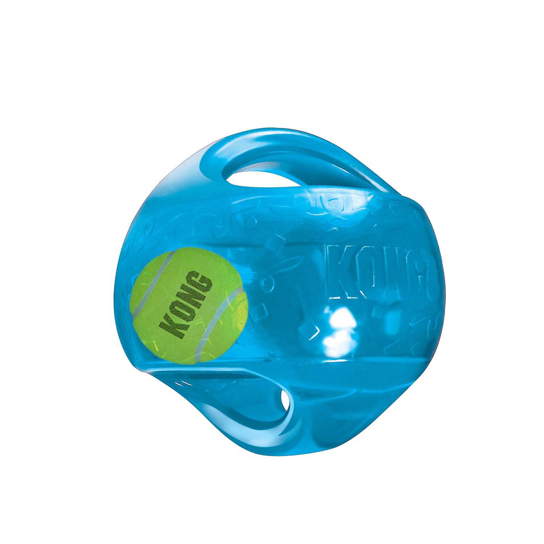 KONG Jumbler Ball Dog Toy, Medium, Assorted