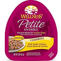 Wellness Petite Entrees Casserole Tender Chicken, Green Beans & Carrots Dog Food