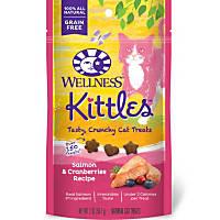 Wellness Kittles Salmon & Cranberry Cat Treats