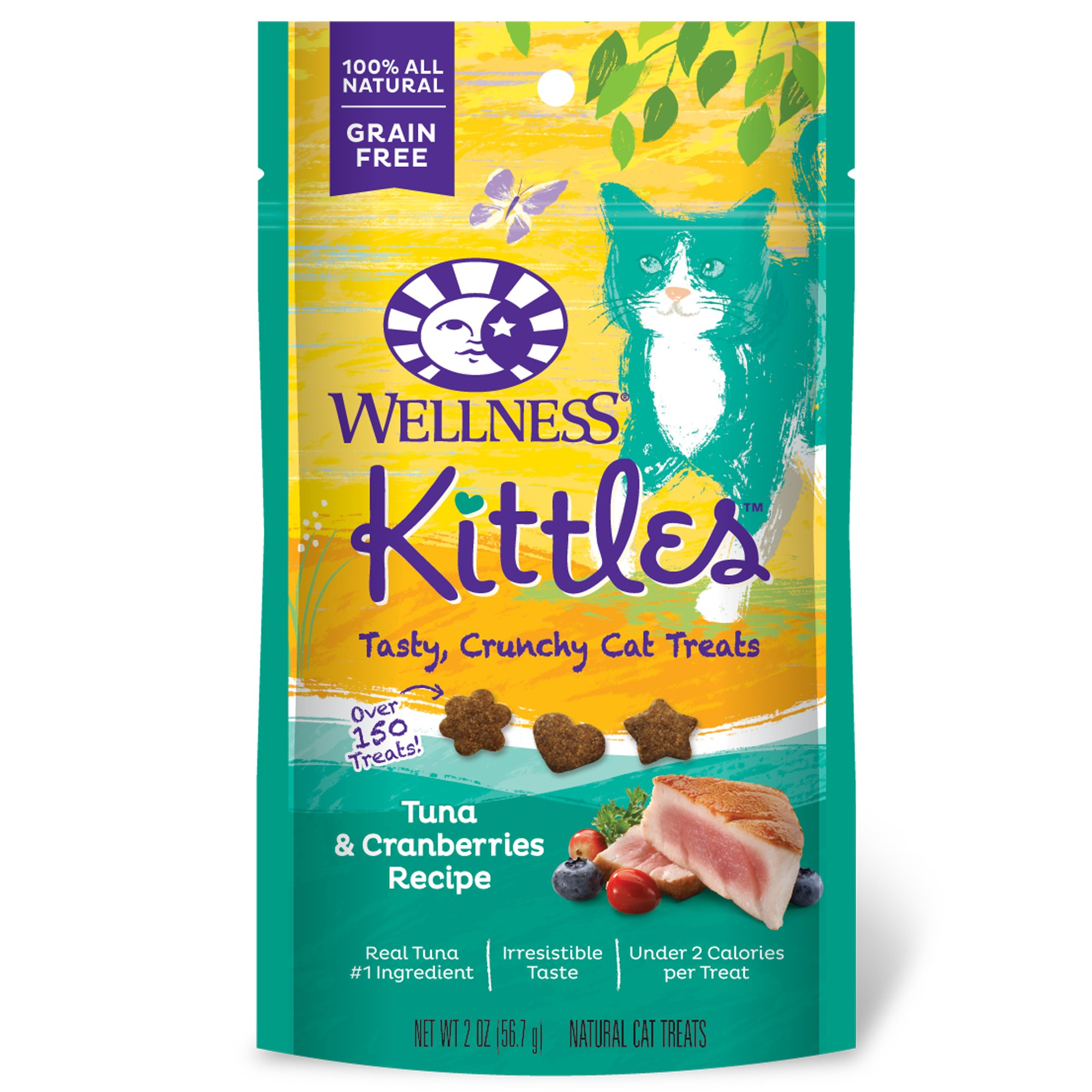 Wellness Kittles Tuna & Cranberry Cat Treats