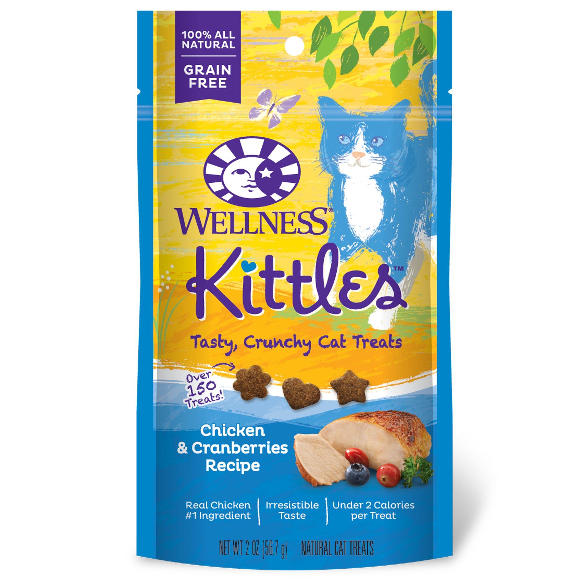Wellness Kittles Chicken & Cranberry Cat Treats
