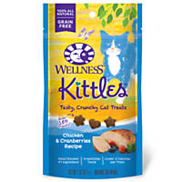 Wellness Kittles Chicken & Cranberry Cat Treats