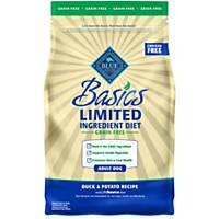 Blue Buffalo Basics Limited Ingredient Grain Free Duck & Potato Dog Food