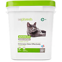 So Phresh Advanced Odor Control Scoopable Fragrence Free Cat Litter