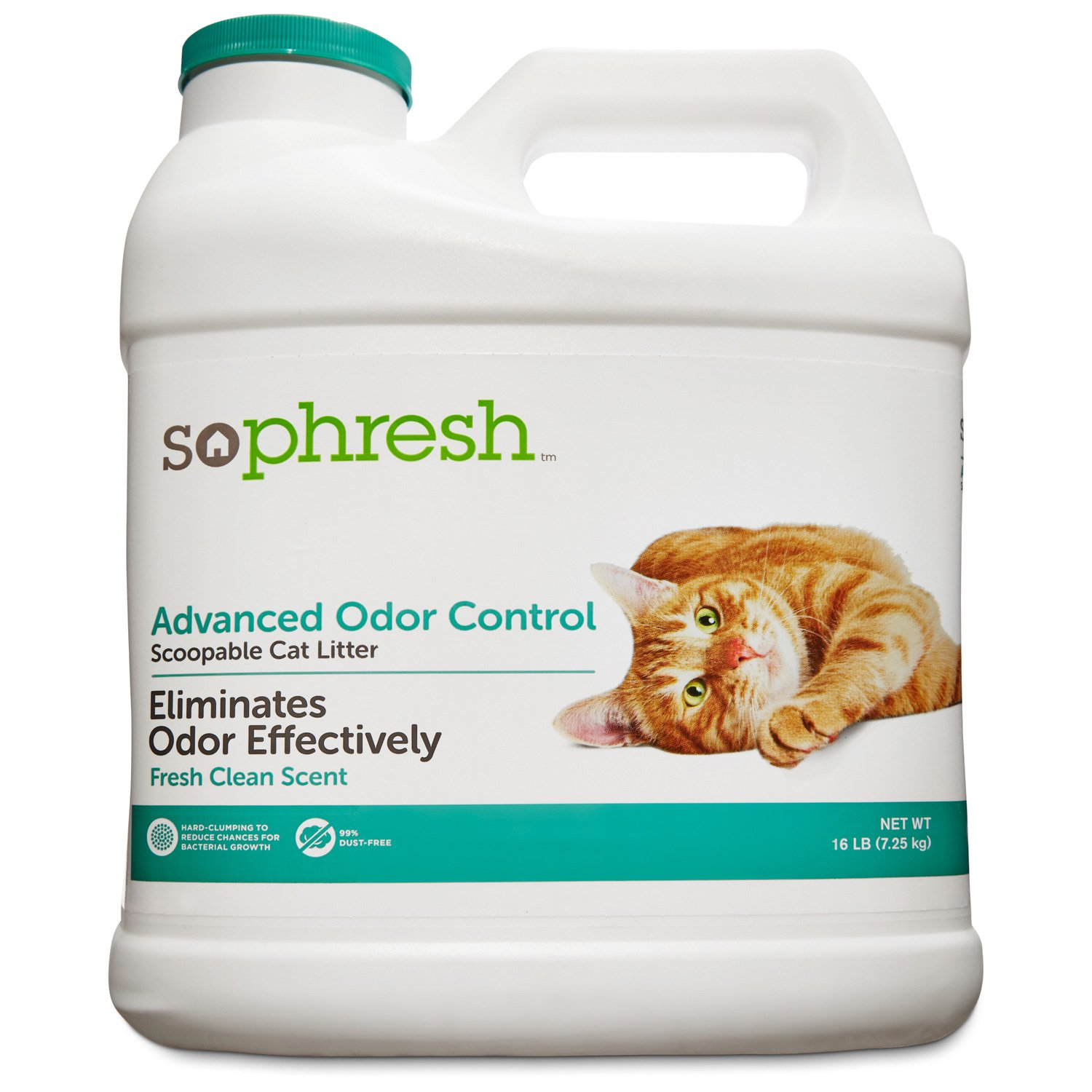 So Phresh Advanced Odor Control Scoopable Scented Cat Litter