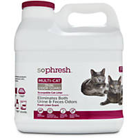 So Phresh Dual Odor Guard Scoopable Cat Litter