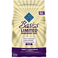 Blue Buffalo Basics Limited Ingredient Formula Turkey & Potato Senior Dry Dog Food