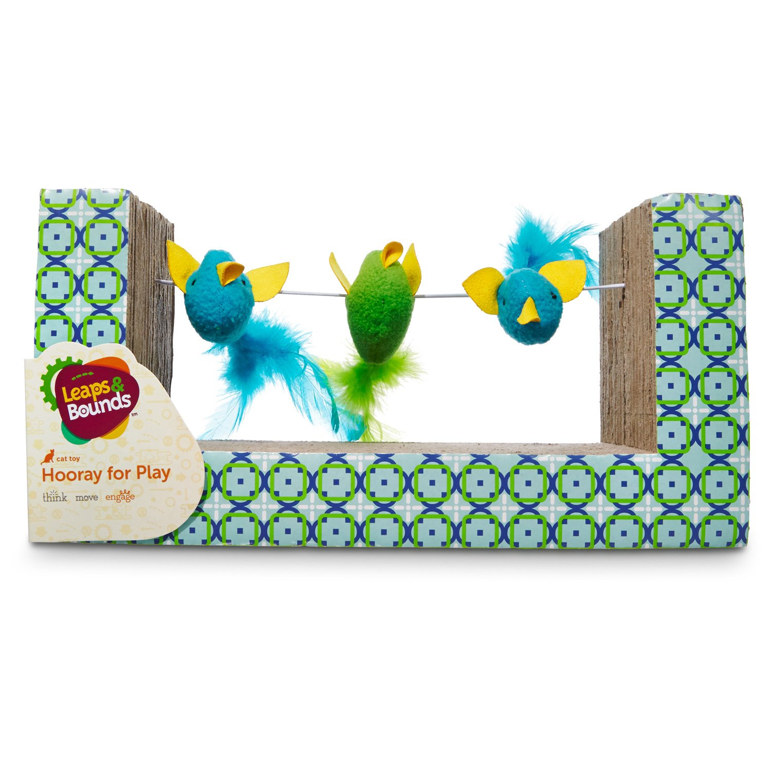Leaps & Bounds Birds on a Wire Cat Scratcher