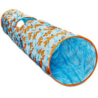Leaps & Bounds Peek-a-Boo Pipe Cat Tunnel