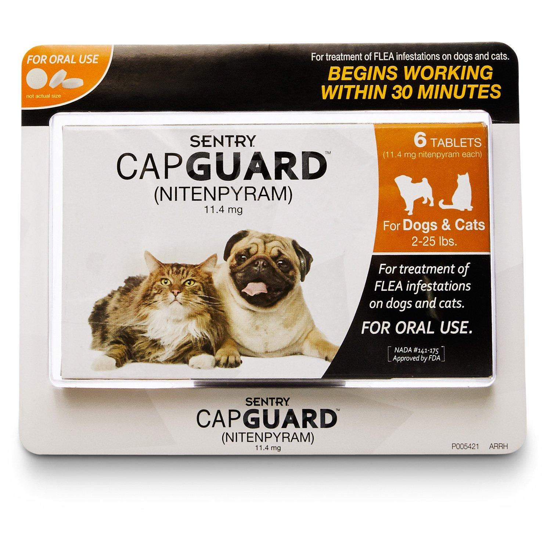 Sentry Capguard Flea Tablets for Pets