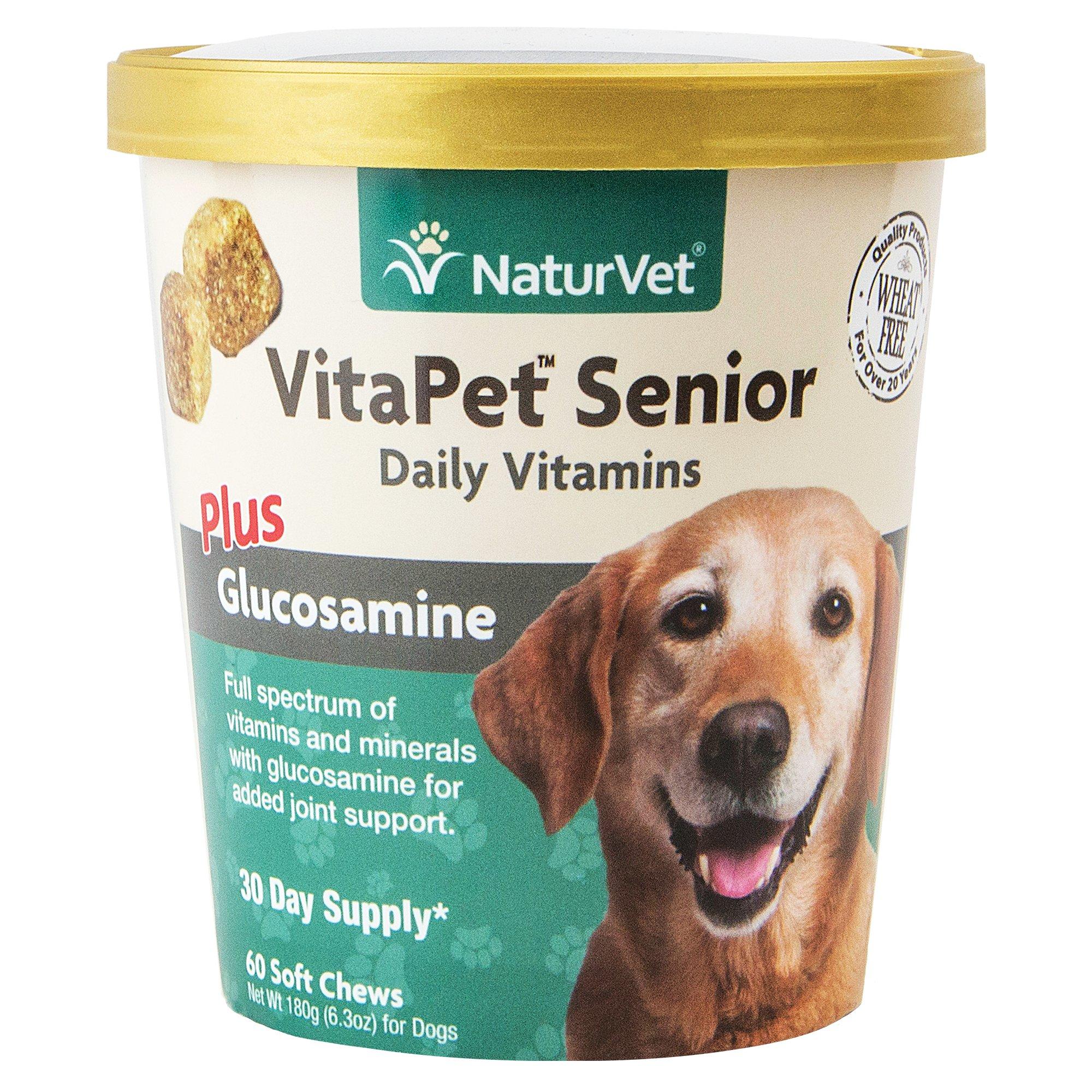 NaturVet VitaPet Senior Glucosamine Soft Chews