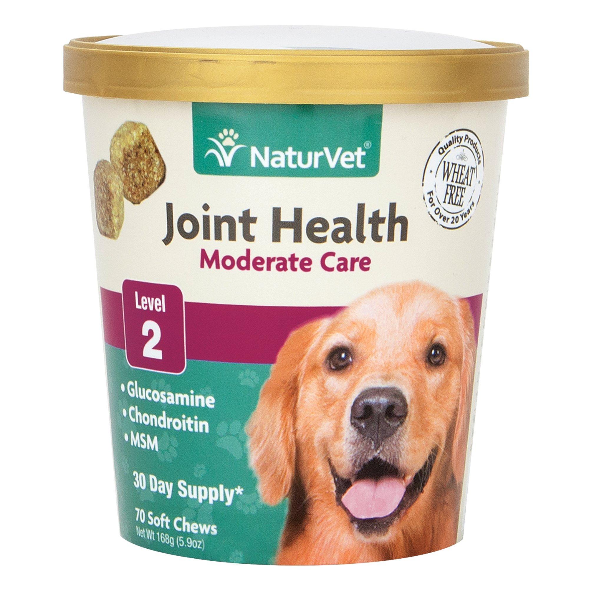 NaturVet Joint Health Moderate Care Dog Soft Chews